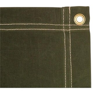 12 x 14 ft. Canvas Tarp - Olive Drab