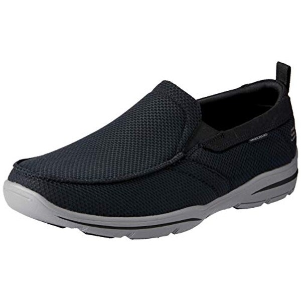 Skechers Men's Relaxed Fit: Harper Walton Black 12 D US