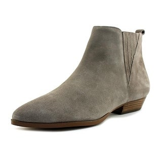 Ivanka Trump Avali Round Toe Suede Ankle Boot