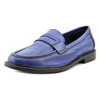 Cole Haan Pinch Campus Loafer Women Round Toe Leather Loafer