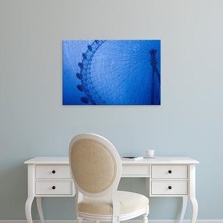 Easy Art Prints Julien McRoberts's 'England London Eye' Premium Canvas Art