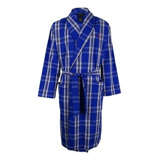 Polo Ralph Lauren Men's Plaid Woven Robe - S/M