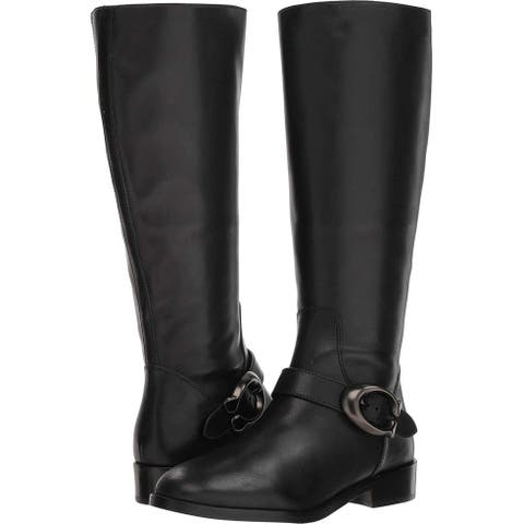 Coach Womens Brynn Closed Toe Over Knee Fashion Boots