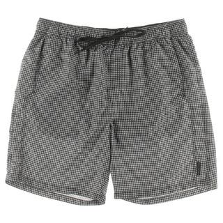 Calvin Klein Mens Gingham Drawstring Board Shorts - L|https://ak1.ostkcdn.com/images/products/is/images/direct/a74a84c58d28a68cd6bb825bd271c0f26d61877b/Calvin-Klein-Mens-Gingham-Drawstring-Board-Shorts.jpg?impolicy=medium