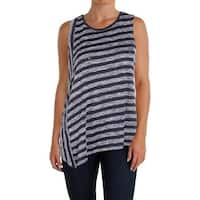 Two by Vince Camuto Womens Tank Top Sleeveless Asymmetric