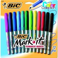 Mark-It Acid-Free Non-Toxic Permanent Marker, Assorted