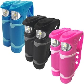 Knuckle Lights Color Handheld LED Weatherproof Running Safety Light Set