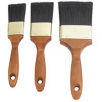 Mintcraft 5144696 3 Piece Wood Handle Brush Set