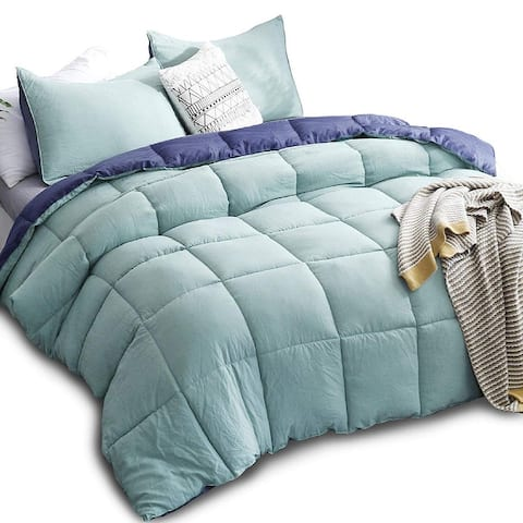 Kasentex Down Alternative Comforter Set Reversible Duvet Insert