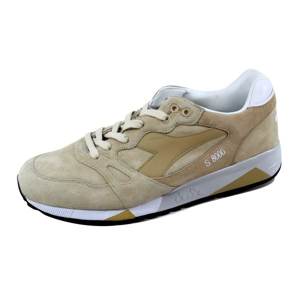 Diadora Men's S8000 Italia White/Frosty Green C6585