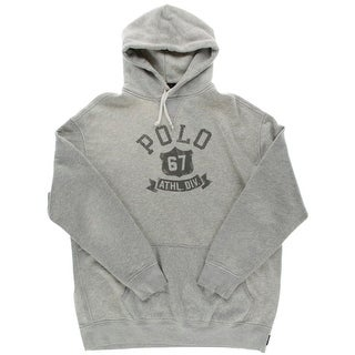Polo Ralph Lauren Mens Big & Tall Heathered Graphic Hoodie - 2xlt
