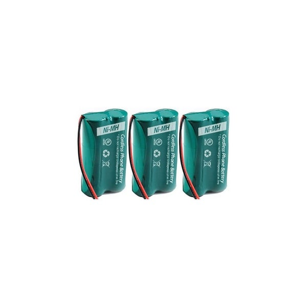 Replacement For Uniden BBTG0835001 Cordless Phone Battery (500mAh, 2.4V, NI-MH) - 3 Pack