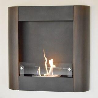 Nu-Flame NF-W3FON Focolare Muro Noce - STAINLESS STEEL