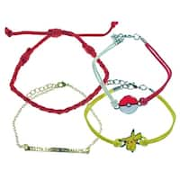 Pokemon Pikachu Arm Party Bracelet Set
