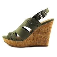 American Rag Womens Mirranda Fabric Open Toe Casual Platform Sandals