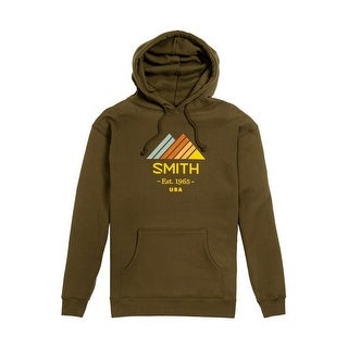 Smith Optics Sweatshirt Mens Scout Hoodie Long Sleeve Army SWTM16005