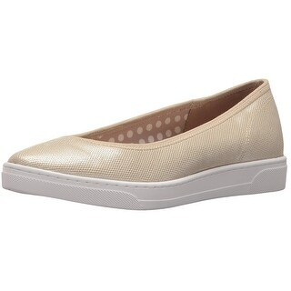 Anne Klein Womens Over The Top Fabric Closed Toe Slide Flats