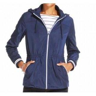 Tommy Hilfiger NEW Blue Women's Size XL Hooded Drawstring Jacket