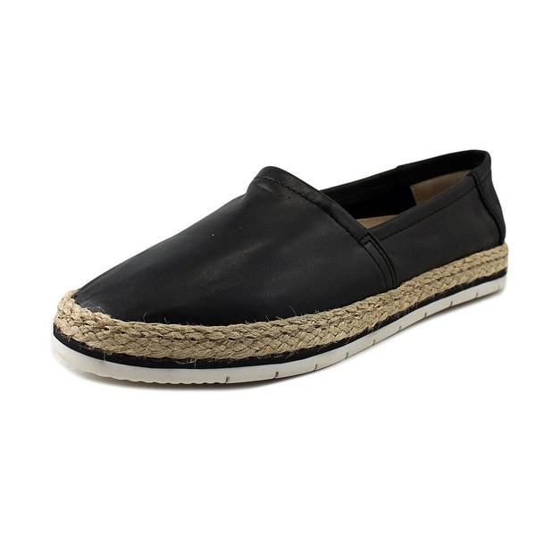 Aldo Telassi Women Round Toe Leather Black Loafer