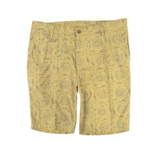 Tre Vero Men's Floral Walking Shorts - 36