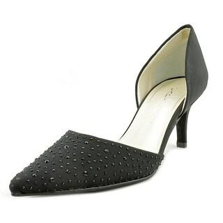 Caparros Ola Women Pointed Toe Synthetic Black Heels