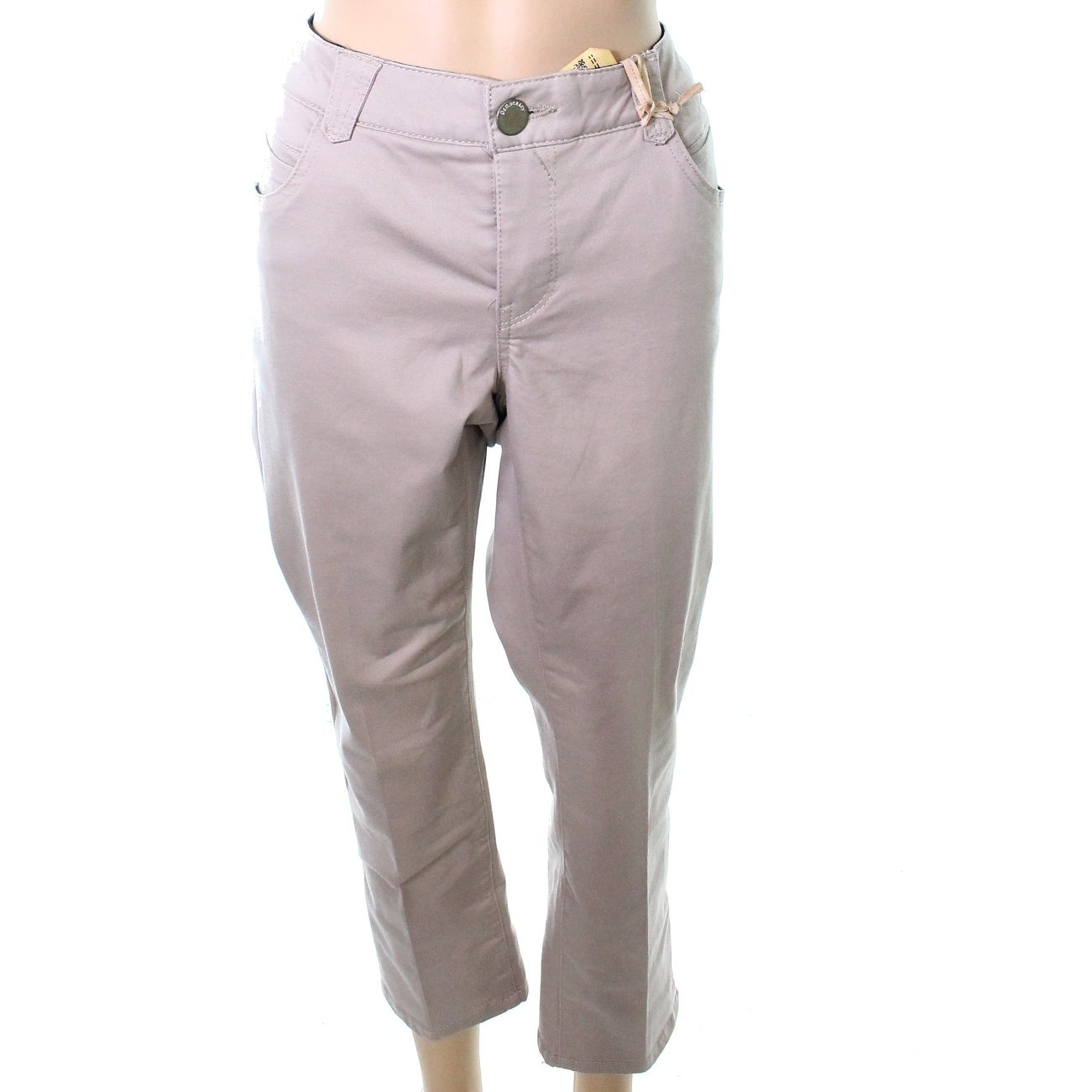 find lowest price purchase newest info for Democracy Beige Women's Size 16W Plus Khakis Chinos Stretch Pants