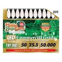 LEDBX-C650-WW 50 Light C6 LED Light Set - Warm White