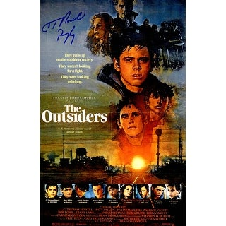 C. Thomas Howell Signed The Outsiders 11x17 Movie Poster w/Ponyboy