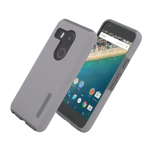 Incipio Hard Shell With Silicone Core DualPro Case for LG Nexus 5x - Gray