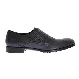 Dolce & Gabbana Dolce & Gabbana Blue Leather Dress Loafers