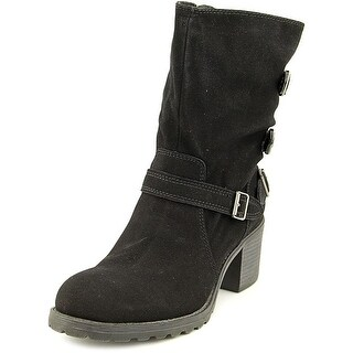 American Rag Womens Vance Suede Closed Toe Mid-Calf Combat Boots
