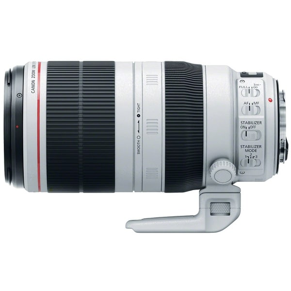 Canon EF 100-400mm f/4.5-5.6L IS USM II Super Telephoto Zoom Lens - White