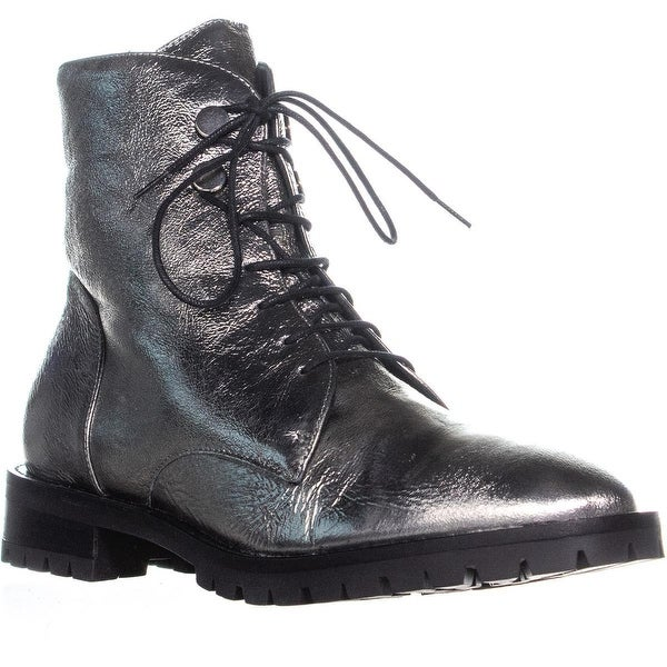 008f1704156 Shop Kenneth Cole New York Francesca Lace Up Combat Boots