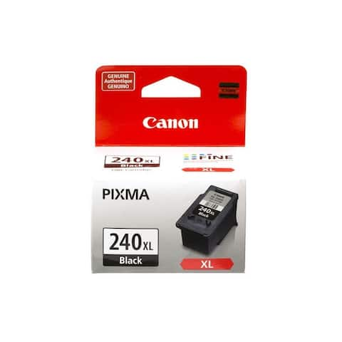 Canon PG-240XL High Yield Black Ink Cartridge, 5206B001