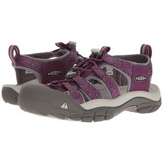 Keen Newport H2 Women Sandal,Water Shoe, Deep Purple/Purple Sage