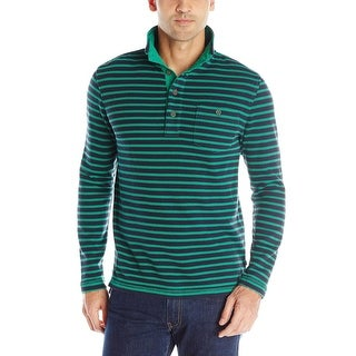Nautica Slim Fit Stripe Pullover Mockneck Sweater X-Large XL Bosphorus
