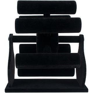 "Bracelet Paddle Wheel Display 13""X10""X12""-Black Velvet"