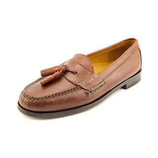 Cole Haan Pinch Tassel Round Toe Leather Loafer