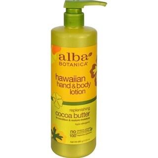 Alba Botanica - Cocoa Butter Hawaiian Hand And Body Lotion ( 1 - 24 FZ)