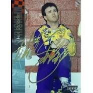 Signed Stricklin Hut 1995 Upper Deck Racing Card autographed