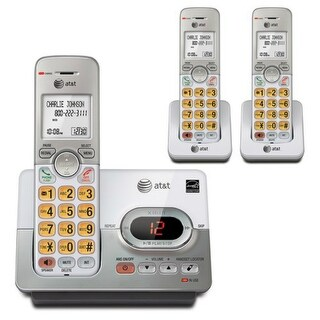 AT&TA EL52303 3-Handset Cordless Answering System with Caller Id/Call Waiting