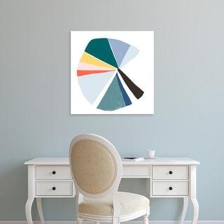 Easy Art Prints June Erica Vess's 'Color Wheel V' Premium Canvas Art