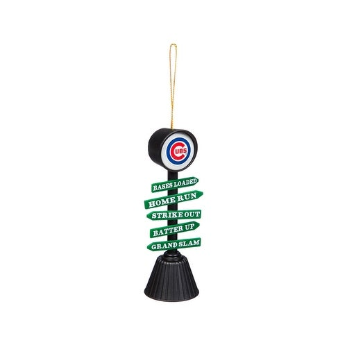 Chicago Cubs Fan Crossing Ornament