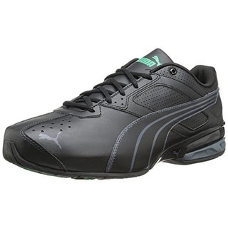 Puma Mens Tazon 5 Faux Leather Lace-Up Running, Cross Training Shoes - 7.5 wide (e)