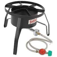 Bayou Classic SP10 High Pressure Outdoor Gas Cooker,  Single Burner