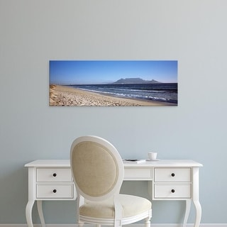 Easy Art Prints Panoramic Image 'Table Mountain, Bloubergstrand, Cape Town, Western Cape, South Africa' Canvas Art