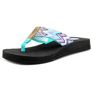 Yellow Box Electra Women Open Toe Synthetic Multi Color Flip Flop Sandal