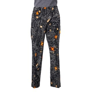 Prada Womens Black Wool Blend Floral Print Trousers