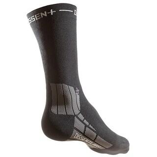 Dissent Genuflex Full Protect 12in Cycling Compression Socks - Black