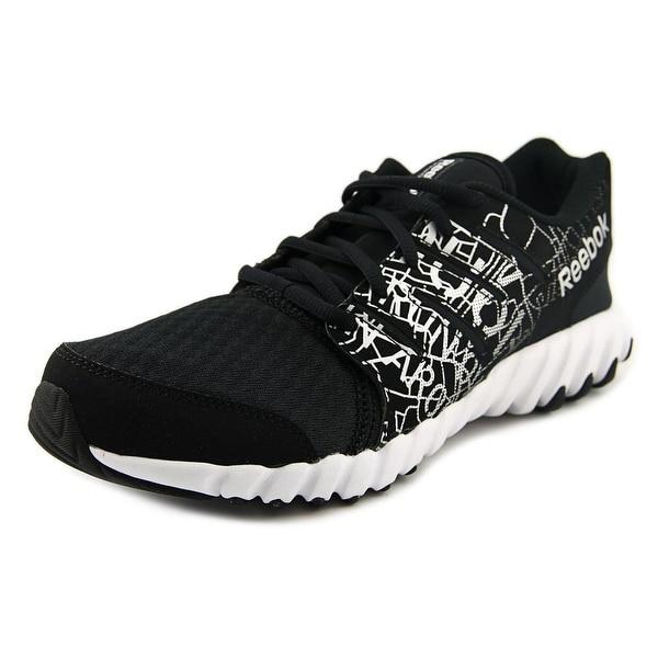 Reebok Twistform Youth  Round Toe Synthetic Black Running Shoe